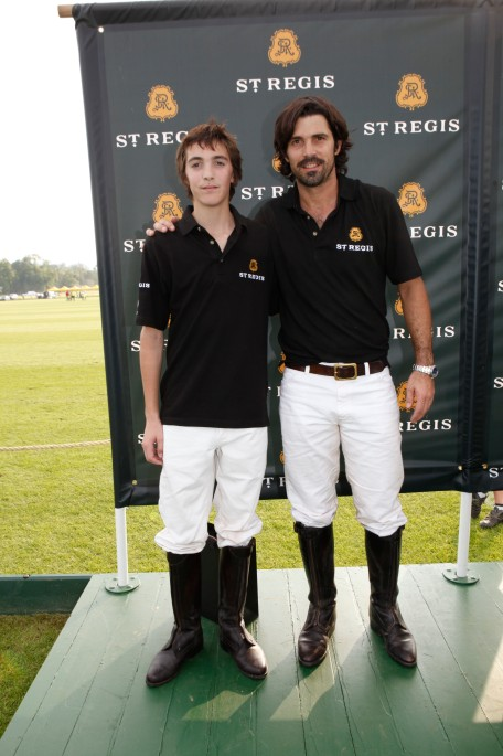 The 7th Annual St. Regis International Polo Cup at Cowdray Park, Midhurst, West Sussex, Britain on 17 May 2014.